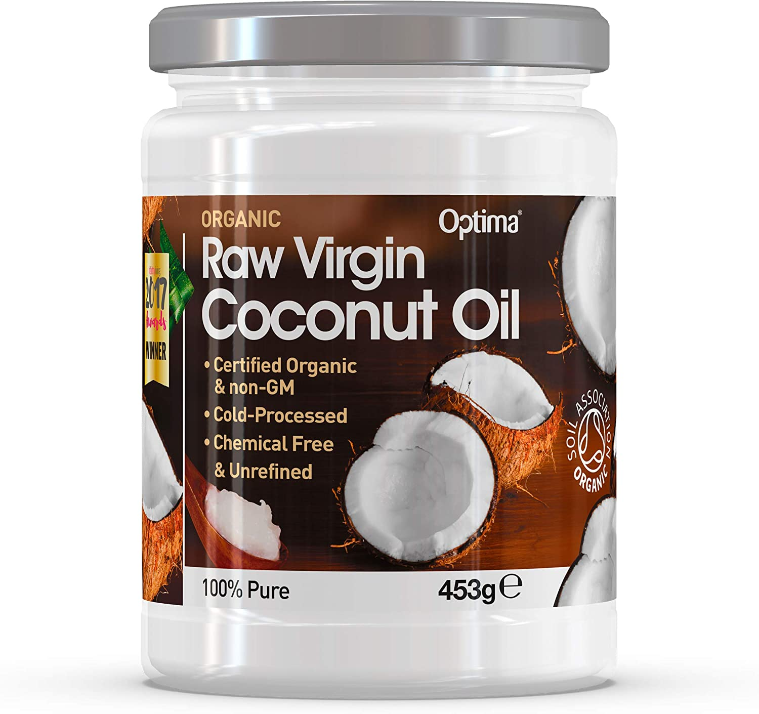 Optima Organic Coconut Oil 453g