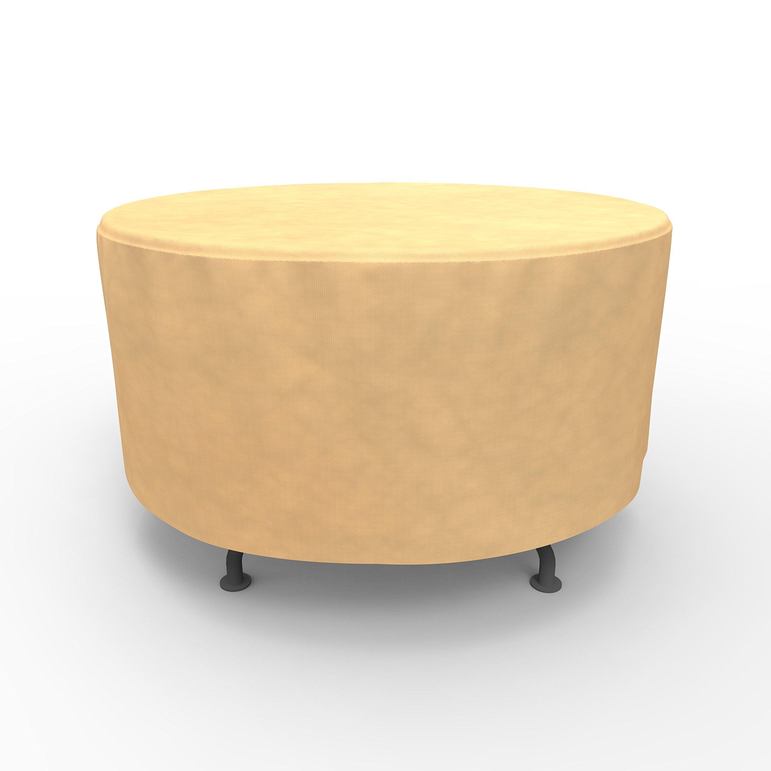 EmpirePatio Round Table Covers 48 in Diameter - Nutmeg