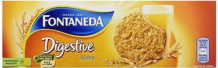 Fontaneda Digestive Galleta con Copos de Avena - 300 g