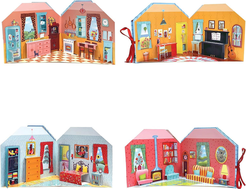 eeBoos Koalas Cozy Cottage Pop-Up Playhouse Book