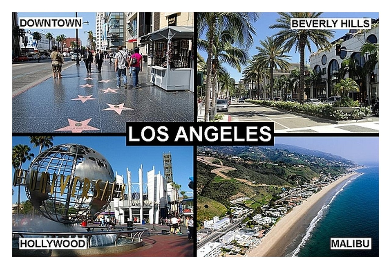 Amazon.de: Kühlschrankmagnet - Souvenir - LOS ANGELES CALIFORNIA USA ...