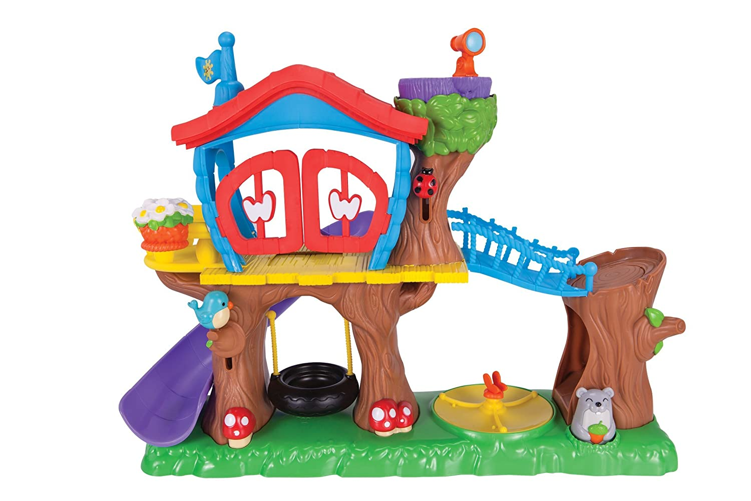Playskool Weebles Musical Treehouse Part - 49: Amazon.com