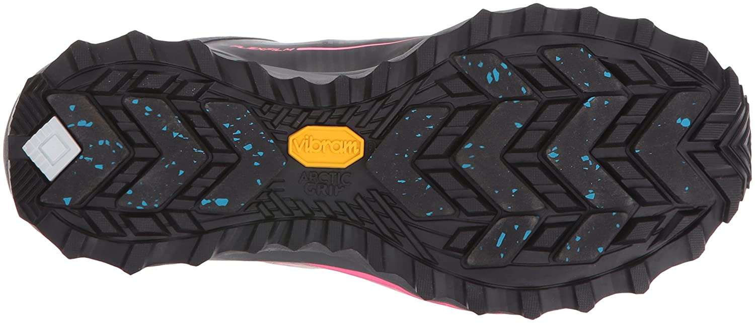 Saucony Women's Razor Ice+ Trail Running Shoe B018F9I0TA 8 B(M) US|Black/White/Combo