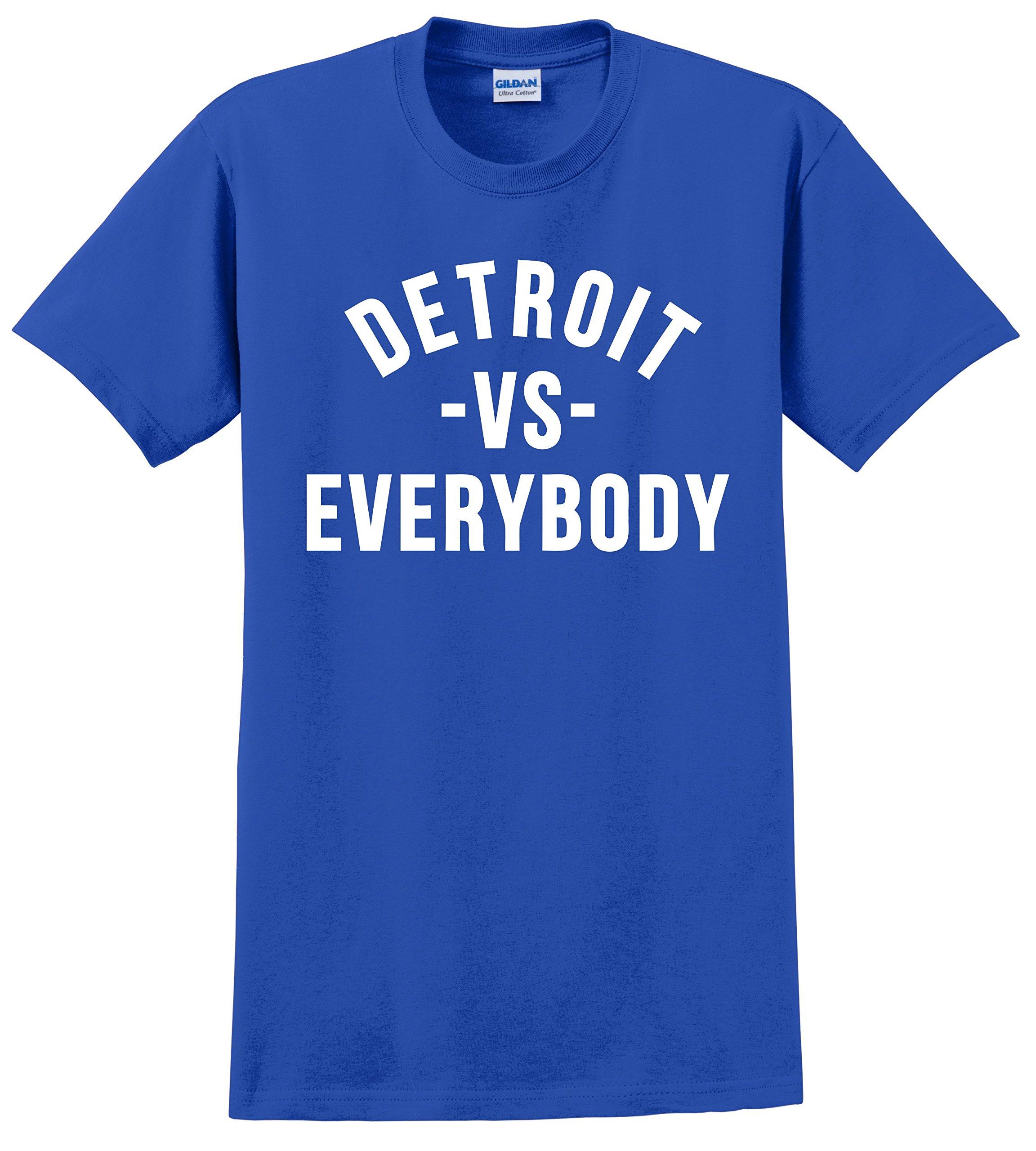 Detroit VS Everybody T Shirt No Love Eminem Big Sean Unisex Tee Shirts