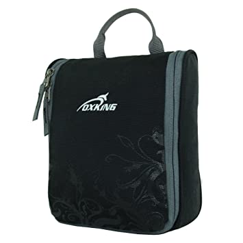 978b9557d3 Amazon.com   Oxking Toiletry Bag Makeup Organizer Cosmetic Bag Portable  Travel Kit Organizer Household Storage Pack Bathroom Storage with Hanging  for ...