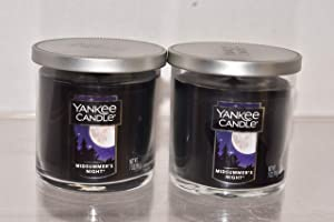 New Yankee Candle Lot of 2 Midsummers Night Small Tumbler Candle 7oz Each