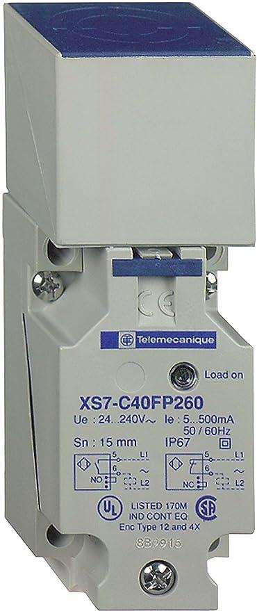 Schneider Electric - Detectores de proximidad inductivos xs7c40pc440