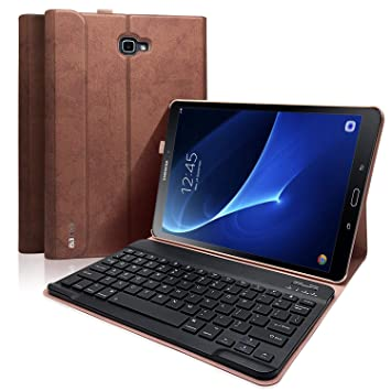 Amazon.com: Funda para teclado de Samsung Galaxy Tab A de 10 ...