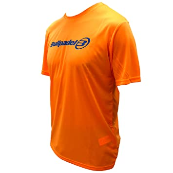 Camiseta Bullpadel Naranja ODP (L): Amazon.es: Deportes y aire libre