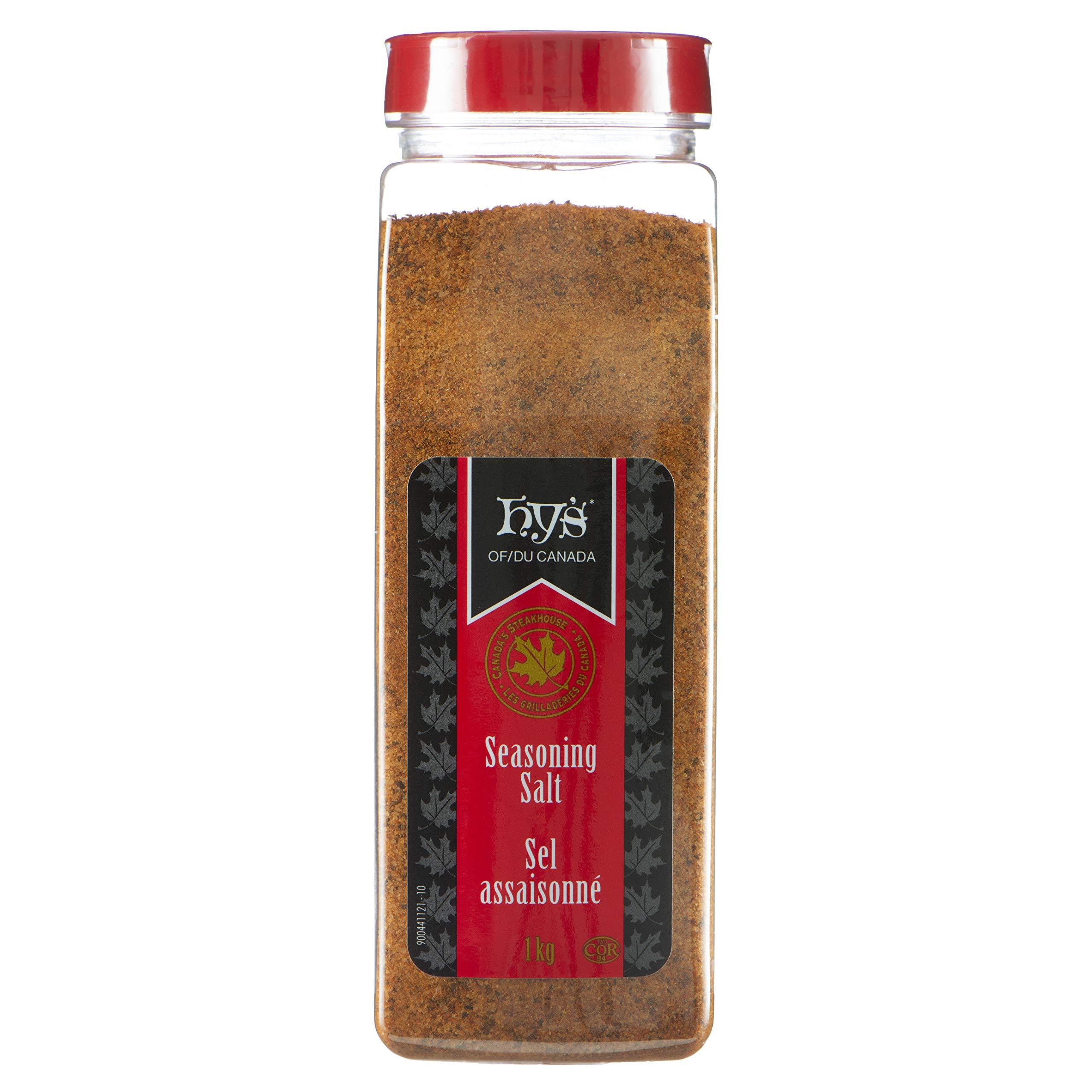 Hy's Seasoning Salt, 1 Kilograms/35.27oz {Imported from Canada}
