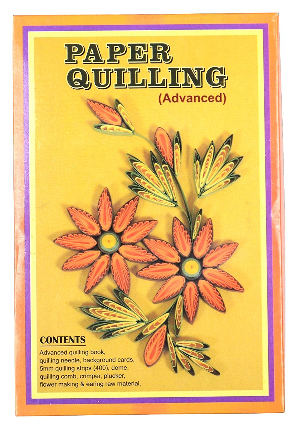 Buy oytra paper quilling advanced kit with needle background cards buy oytra paper quilling advanced kit with needle background cards 5mm quiling strips 400 dome comb crimper plucker flower making and earing raw mightylinksfo