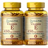 Puritan's Pride Vitamin E 450 Mg Supports Immune Function