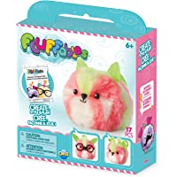 """The Orb Factory Fluffables Kiwi Arts and Crafts (17 Piece), Pink/Green/White, 5.75"""" x 2"""" x 6"""""""