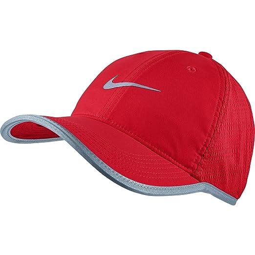 Amazon.com  NIKE Mens Run Knit Mesh Adjustable Running Hat ... cff7b55bfe8