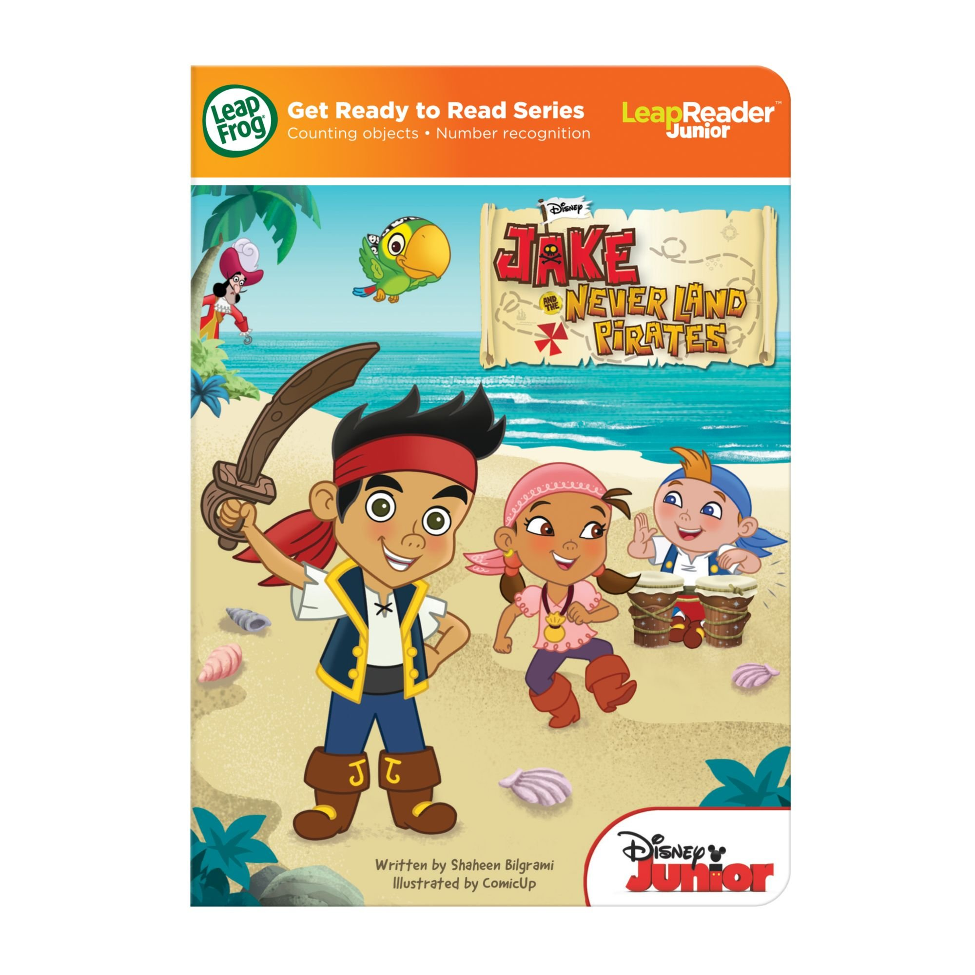 LeapFrog LeapReader Junior Book: Disney's Jake and the Never Land Pirates (works with Tag Junior) by LeapFrog (Image #7)