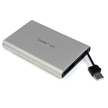 Startech SAT2510SCB - Caja de Disco Duro (HDD de 2.5
