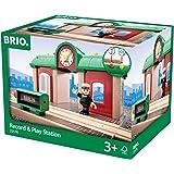Brio - Estación de tren con grabadora de sonidos (33578)
