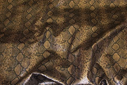 Amazon Com Python Bronze Metallic Embossed Pattern Upholstery Vinyl