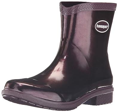 Women's Galochas Low Metallic Rainboot Rain Boot