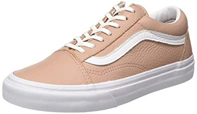 vans old skool pelle rosa