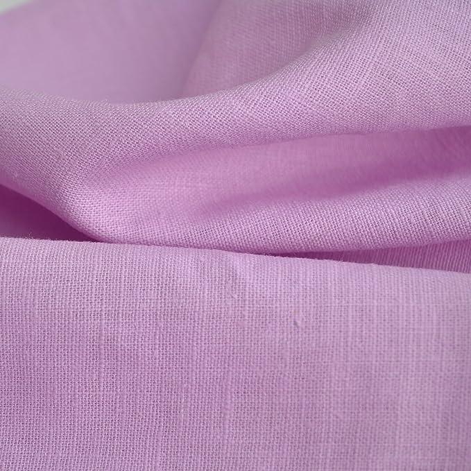 Amazon.com: 100% tela de lino. – Azúcar rosa | Calidad ...
