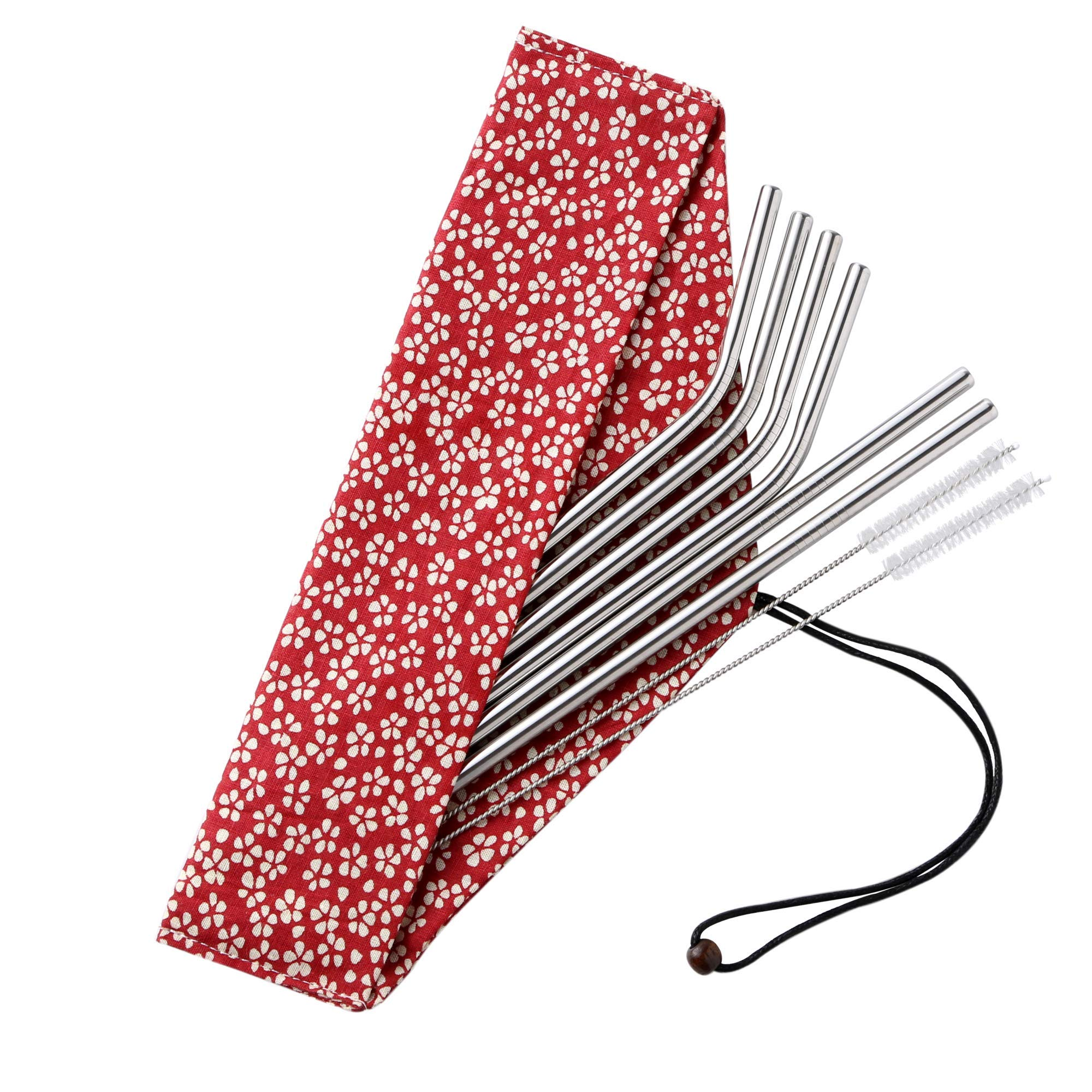Amazon Com Stainless Steel Straws Reusable Reuseable