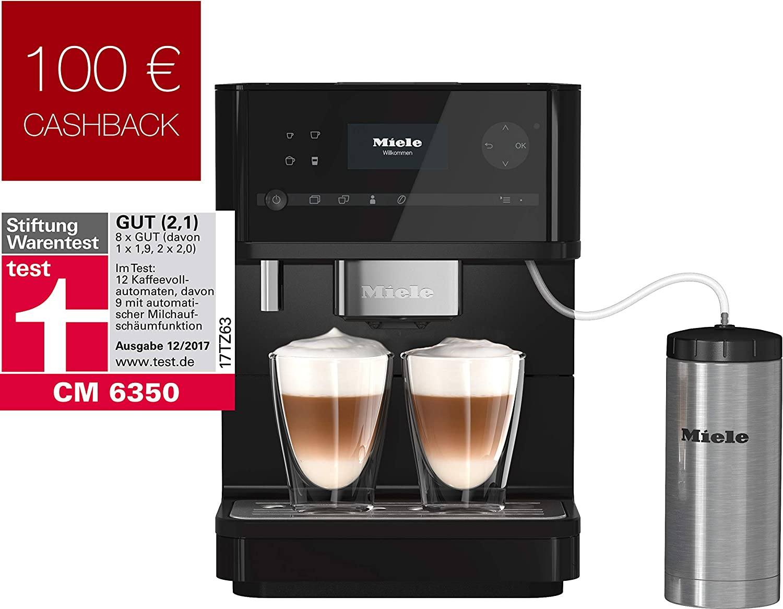 Miele cm20 Black Edition – Cafetera automática obsidianschwarz