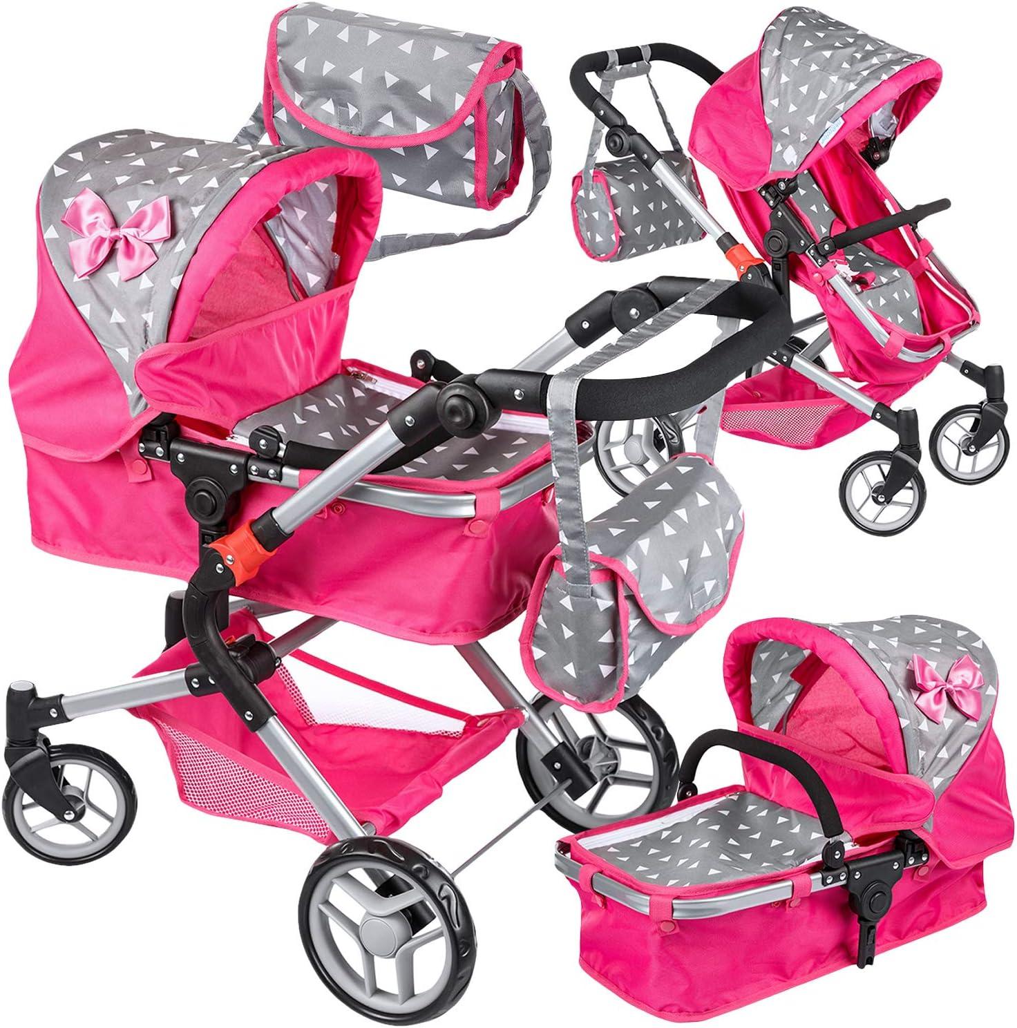 faltbar abnehmbar Babydoll Push Puppe  Kinderwagen  für Kleinkinder