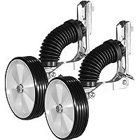 """Draisiennes Vélo pour enfants et Bébés de- stabilitellisateurs brevets (Smart Training Wheels) Avec des accessoires pour tous les types d'attaques signalés dans les photos. AMDA1 Rolls des mesures de vélo de l'enfant, selon la norme DIN: 10 """"12"""" 14 """"16"""". Système d'apprentissage à double réglage de distribution internationale exclusive des brevets. (NOIR) STWheels est un accessoire indestructible qui protège votre enfant et améliore votre vélo ..."""