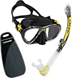 Cressi BIG EYES EVO & ALPHA DRY, Premium Quality Professional Snorkeling Adult Set - Made in Italy by Cressi: quality since 1946