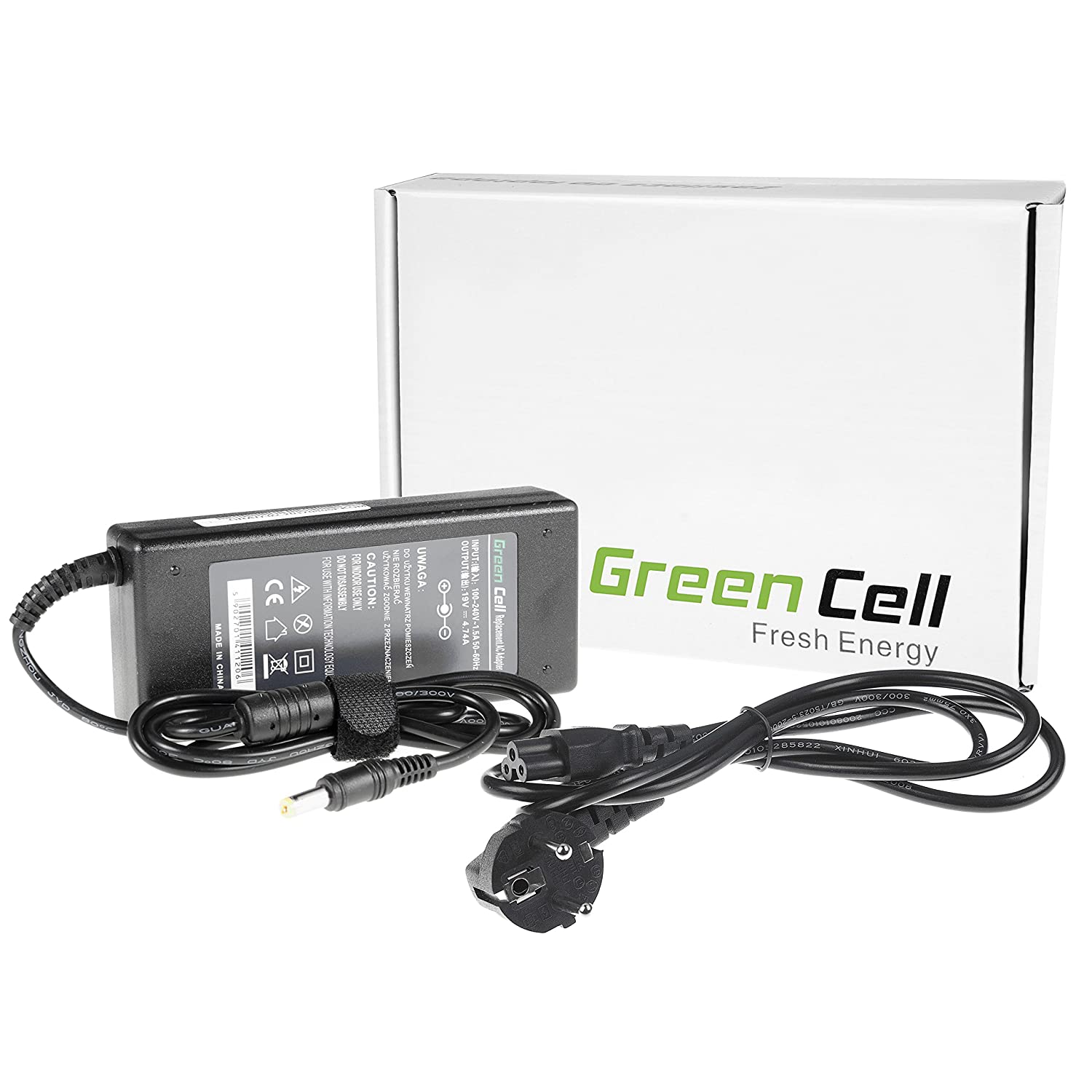 Green Cell® Cargador Notebook CA Adaptador para Packard Bell ...