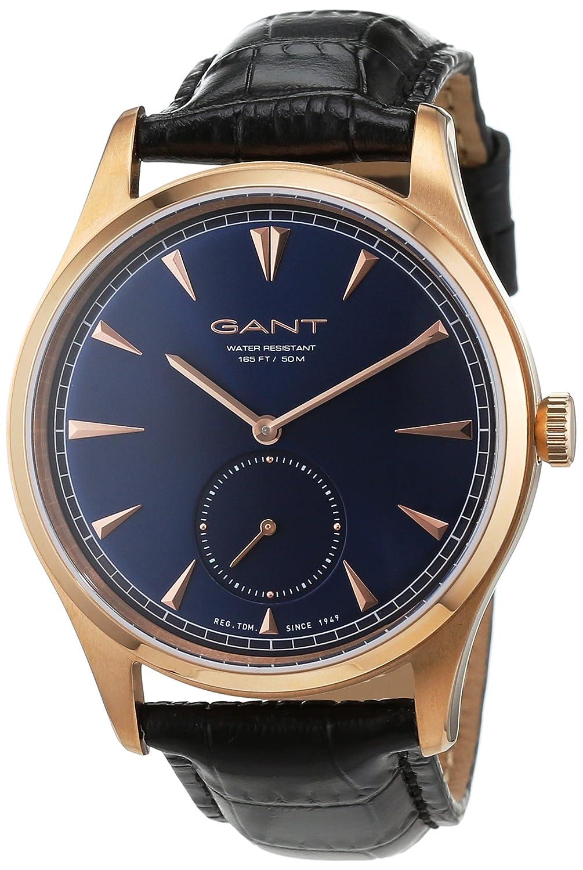GANT TIME Herren-Armbanduhr HUNTINGTON Analog Quarz Leder W71005
