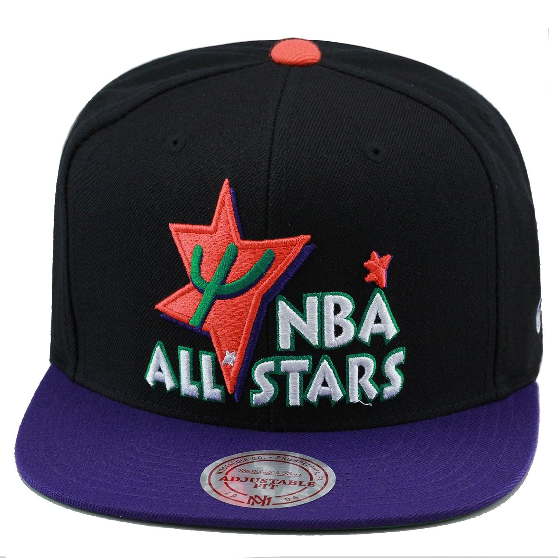 a1a890e05 Mitchell & Ness NBA All Star Game Snapback Hat Cap 1995 Phoenix Black/Purple