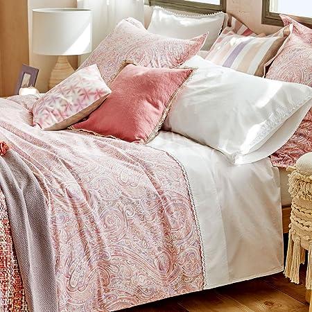 Copripiumino Zara Home.Zara Home Pink Paisley Print Set Copripiumino Matrimoniale 200 X