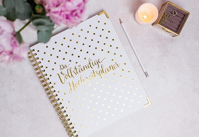 Agenda de boda en alemán, organizador de libro y calendario ...