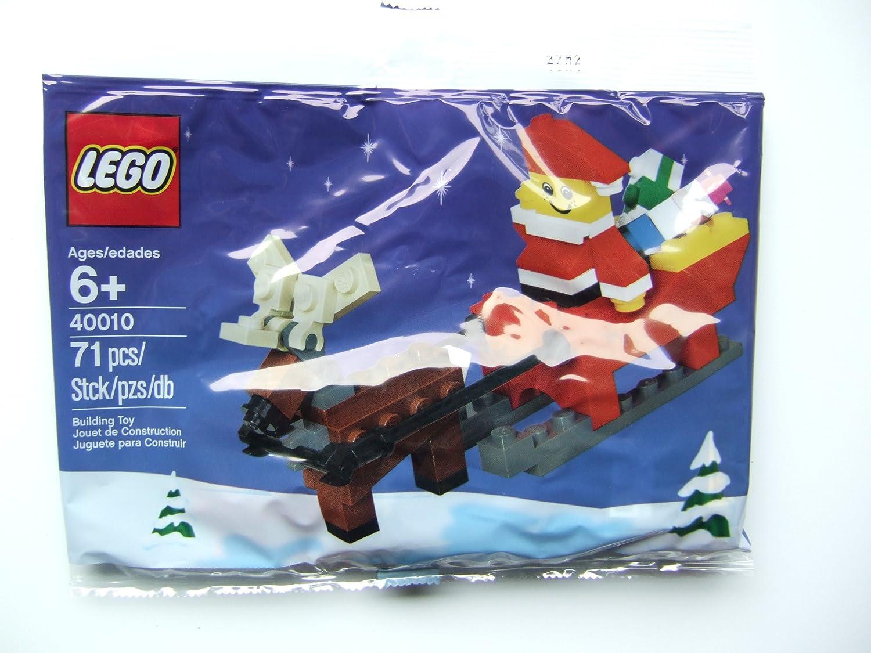 LEGO Estacional: Father Navidad Con Sledge Establecer 40010 ...
