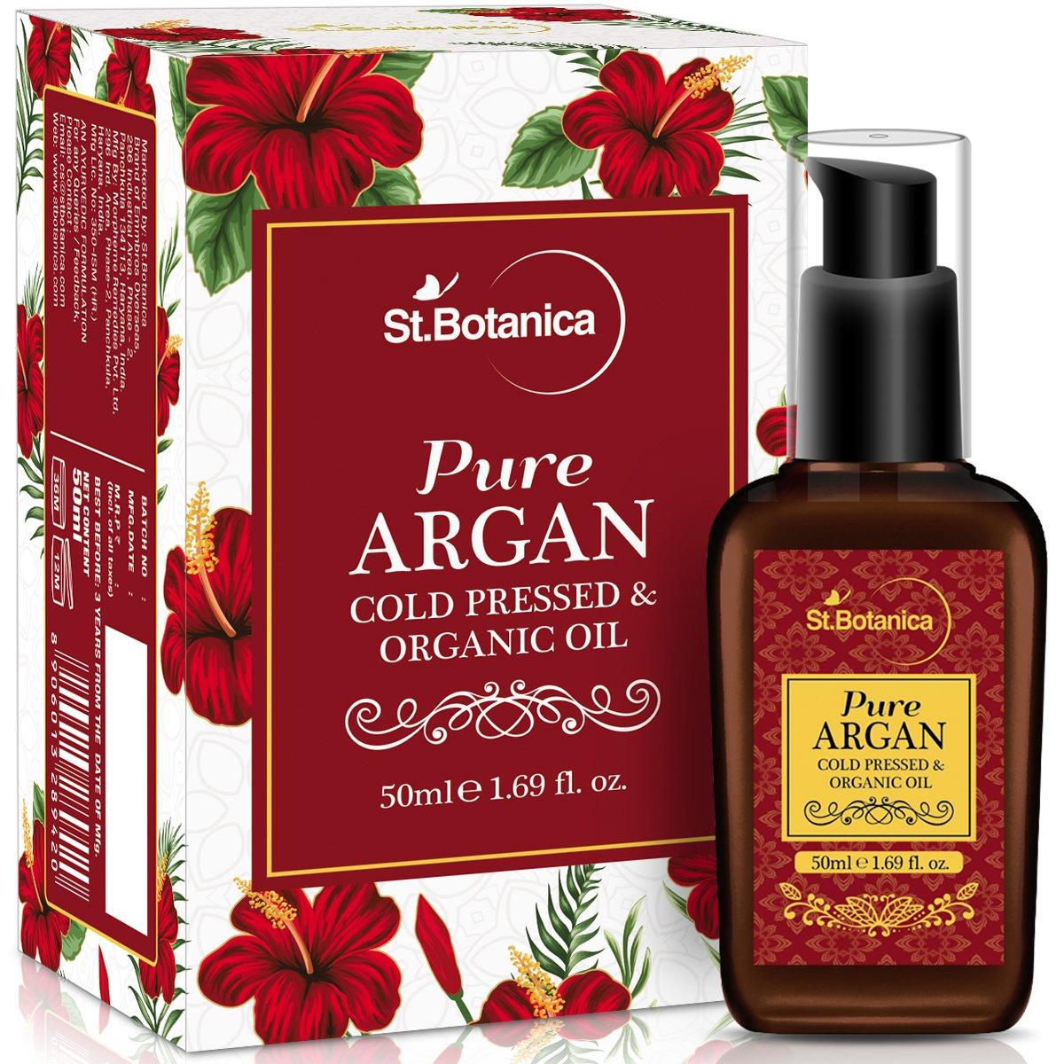 Stbotanica Organic Moroccan Argan Pure Coldpressed Oil 50Ml