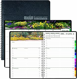 product image for House of Doolittle Earthscapes Gardens of The World Weekly/Monthly Planner 12 Months January 2013 to December 2013, 7 x 10 Inches, Recycled (HOD294632)