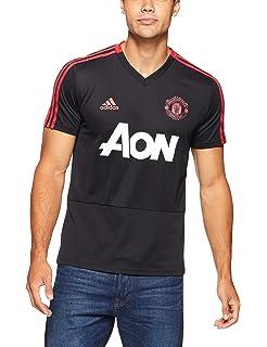 adidas MUFC TR JSY Maillot d entraînement Manchester United FC, Homme, Noir  ( b8b60ec08447