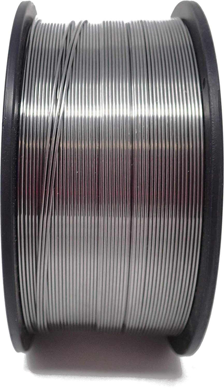 DFK Handelsgesellschaft Bobine de fil de fer à souder, 0,8 mm, D100mm sans gaz MIG MAG E71T, 1 kg D100mm sans gaz MIG MAG E71T