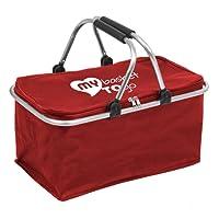 Einkaufs-Korb faltbar mit Deckel | schöne Farben | My Basket to GO