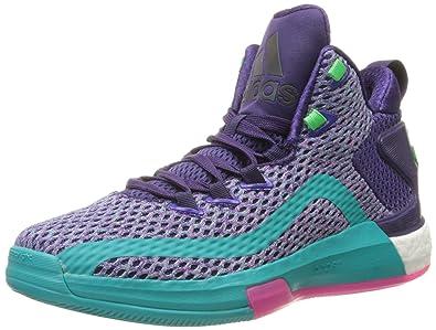 new style 7da03 581a7 adidas Performance J Wall 2 Boost J Shoe (Big Kid),Dark Purple