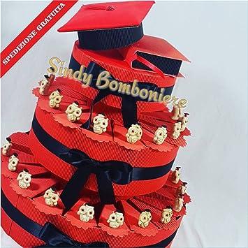 Bonboniere Fur Abschlussfeier Kuchen Eule Rote Augen Versand