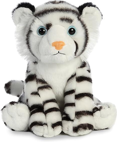 Aurora World White Tiger Plush Blackwhite Small