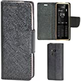 Zaoma Diary Type Flip Cover for Nokia 216 - Black