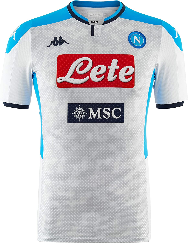 SSC Napoli Camiseta de tercera equipación temporada 2019/2020: Amazon.es: Ropa y accesorios