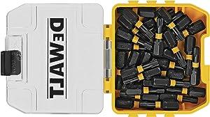 DEWALT FlexTorq Impact Driver Bit Set, Torx, 1/4-Inch x 1-Inch, 30-Piece (DWA1TX25IR30)
