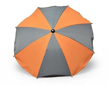Buggyschirm Parasol Universal Sonnenschirm Kinderwagen Buggy Orange