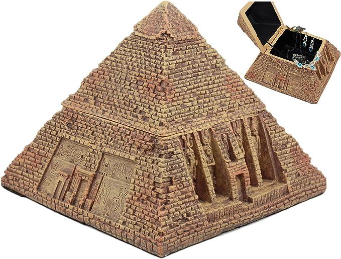 Gifts & Decor Ebros Ancient Egyptian Pyramid Box 7
