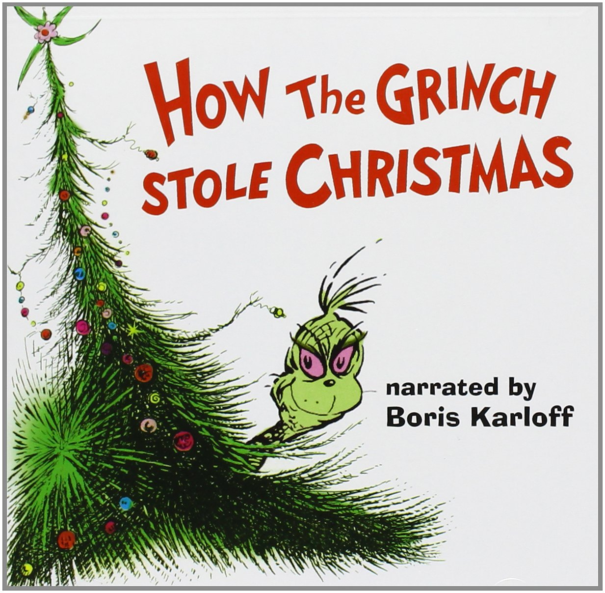 Boris Karloff - How The Grinch Stole Christmas (1966 TV Film ...